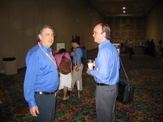 Joe Trippi and Duncan Black