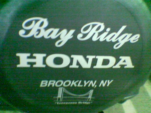 Bay ridge i lived there for a year one week by for Honda bay ridge