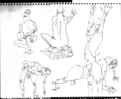 ONE MINUTE FIGURE SKETCHES
