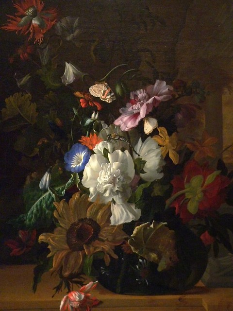 Vase of Flowers by Rachel Ruysch The Netherlands 1689 Oil