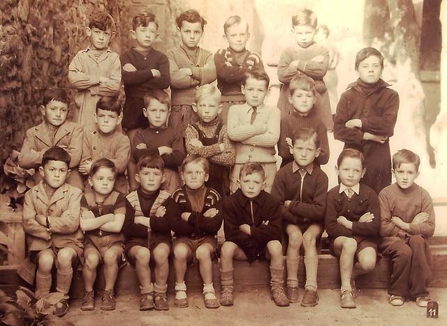 Roscoff - Ecole-publique - la 11 ème vers-1952-53