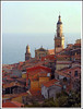 Rita Crane Photography:  Cote D'Azur / Mediterranean / fishing village / stone houses / rooftops / Old Town Menton, French Riviera by Rita Crane Photography