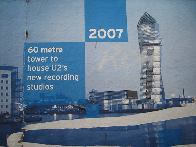 New U2 recording studio poster (update: design has changed ...