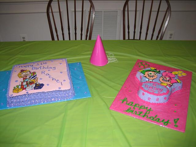 Rugrats Birthday Cake Ideas