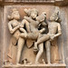 Erotic carvings, Kandariya Mahadev Temple, Khajuraho by fish-bone