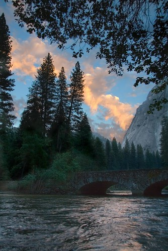 Evening along Yosemite's Merced River