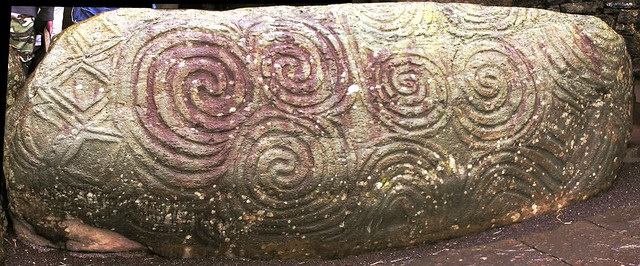 Newgrange Entrance Stone by Alan Bruce, on Flickr