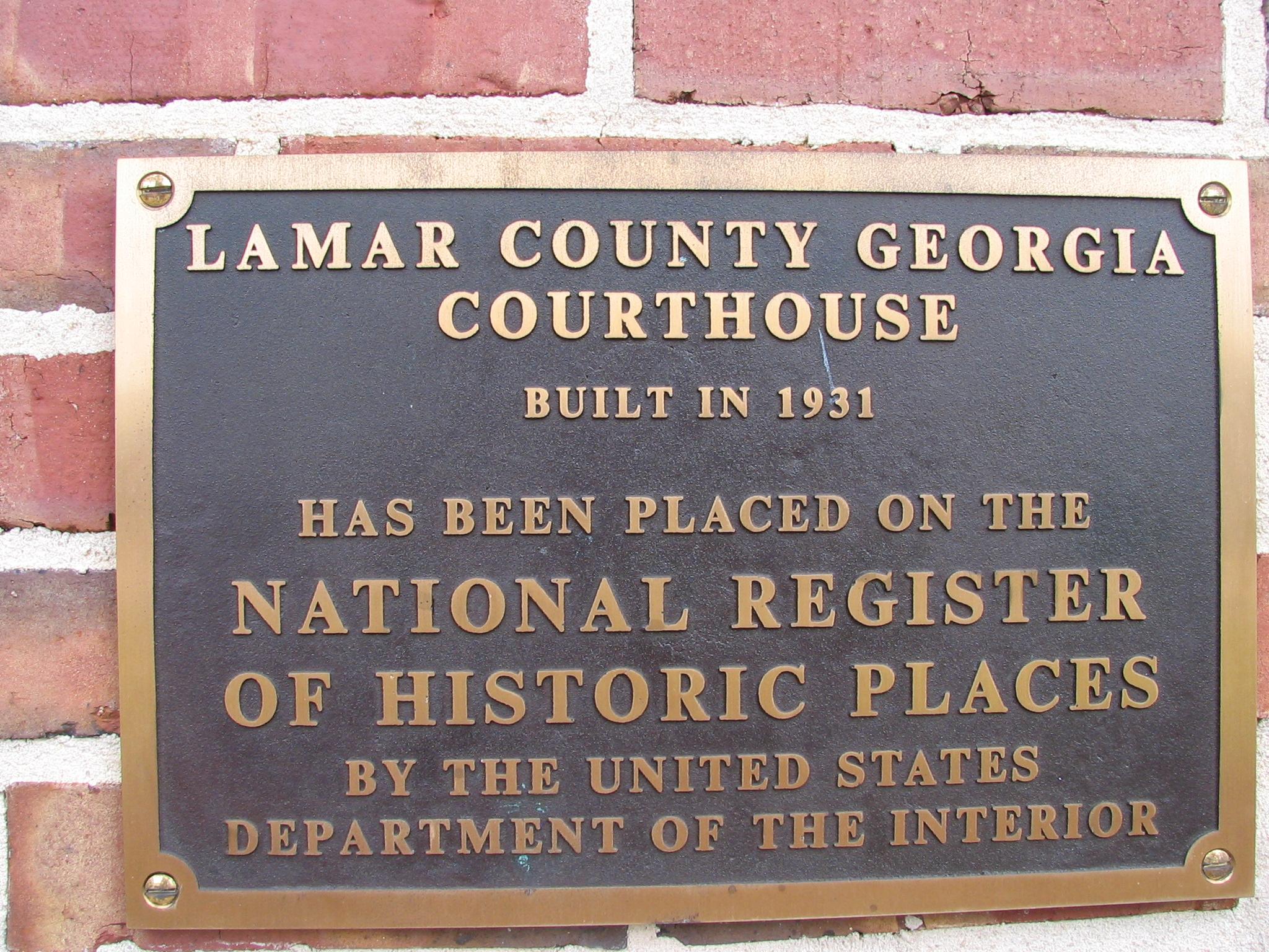 Lamar County Courthouse, Barnesville GA | Flickr - Photo ...