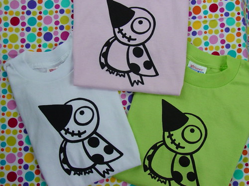 speck the bird screen printed t shirts