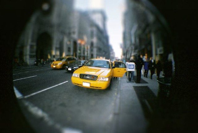 NYC Taxi Fisheye