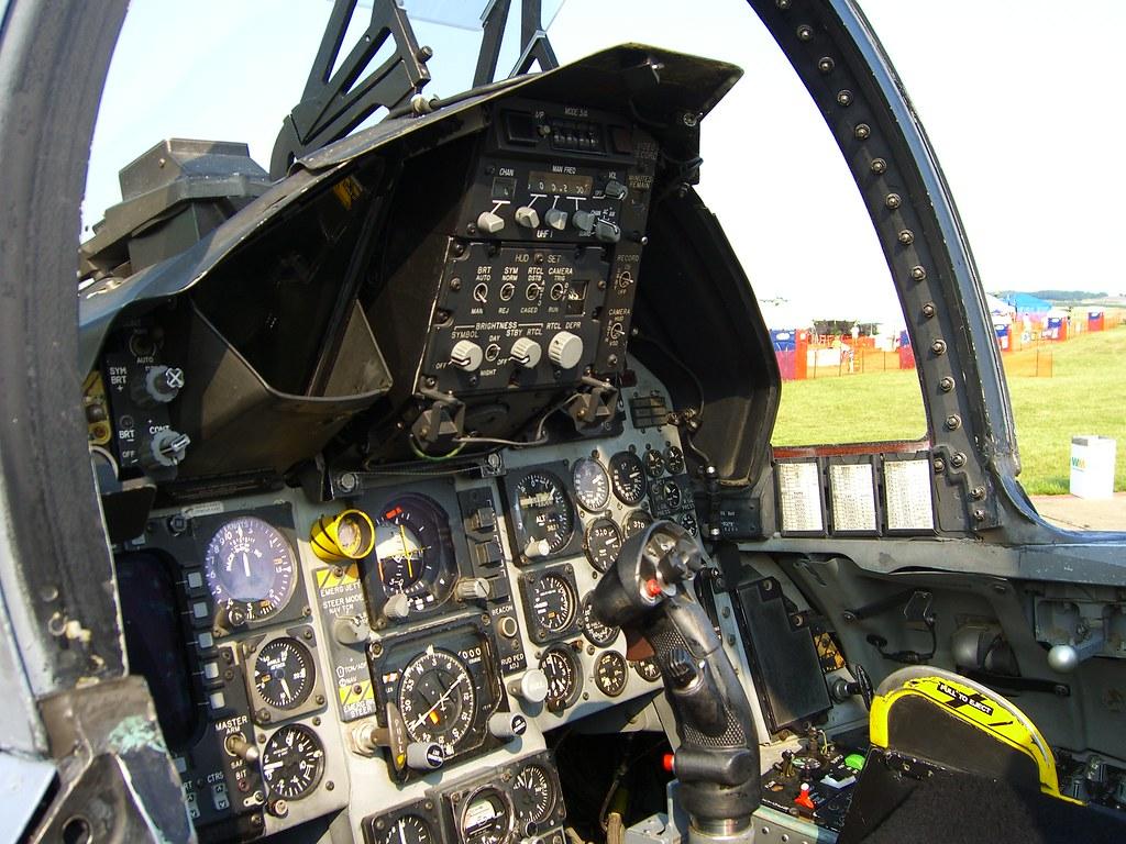 F 15 Cockpit F-15 Eagle cockpit - a...