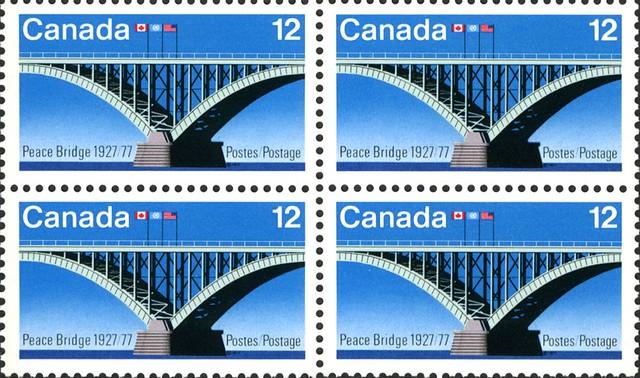 Peace Bridge, Postage Stamp, Canada