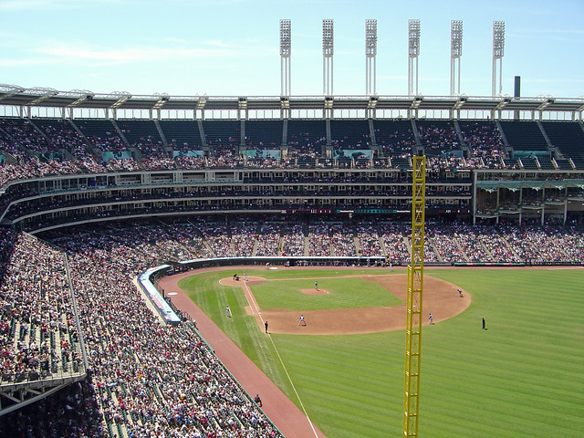 Jacobs Field: The View from Section 518