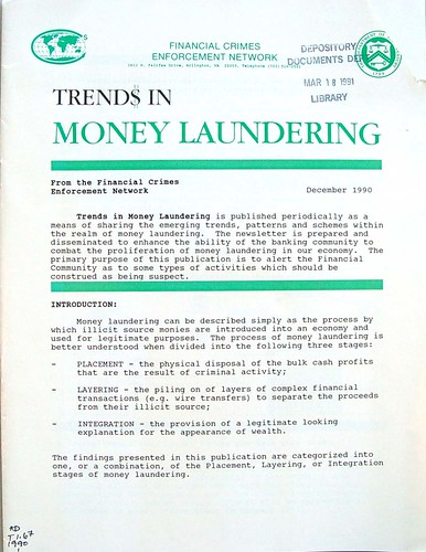 Trend$ in Money Laundering