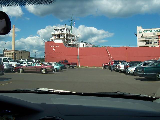 Duluth 10 parking lot