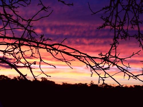 sunset weather victoria hepburnsprings photographerljgervasoni abctvweathervic lisagervasoni