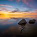 Lake Sakakawea Sunset 6.1 by Jack Lefor