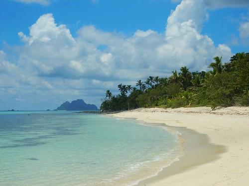 Beach in Mana Island