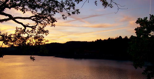 sunset lake water europa places lugares luxembourg impressedbeauty