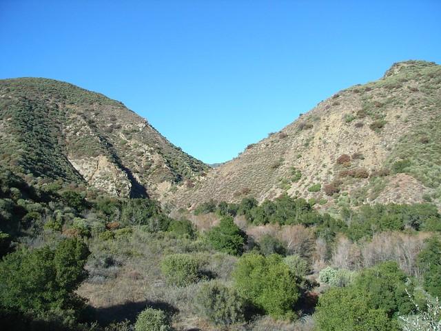 Matilija Creek Mountains