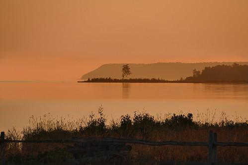 ontario canada sunrise manitoulinisland barrieisland panasoniclumixfz1000 juliabay