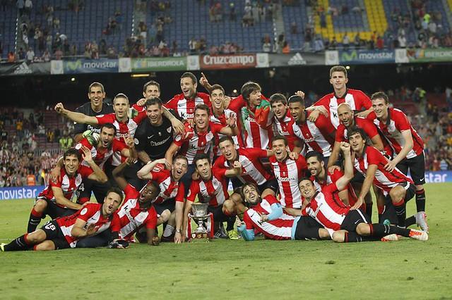 El Athletic Club de Bilbao Campeón de la SuperCopa de España, tras derrotar al FC Barcelona