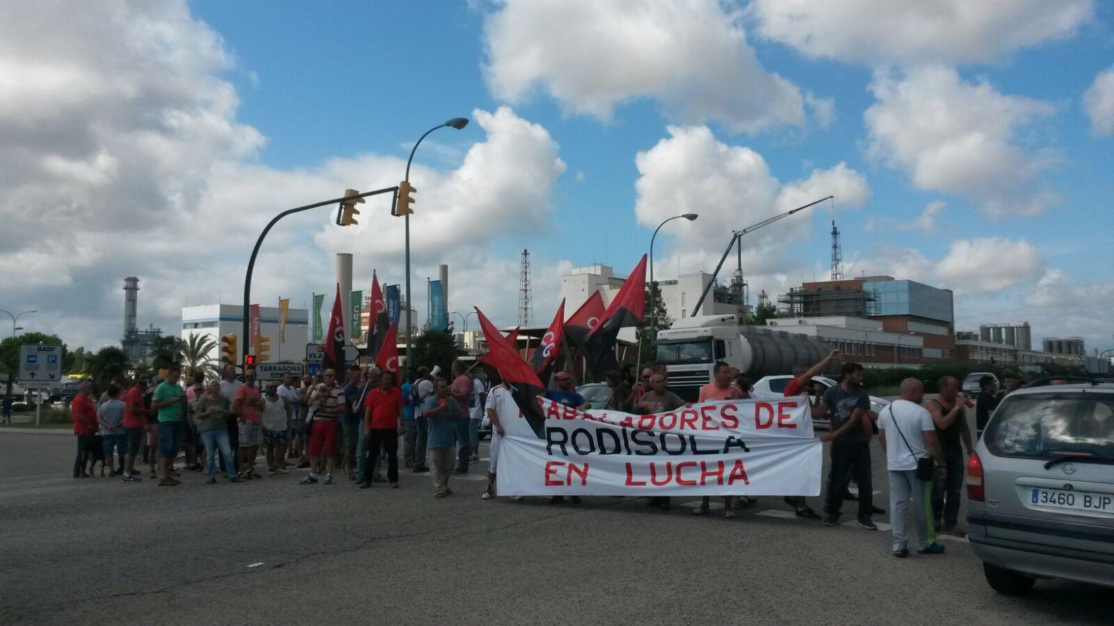 Treballadors de Rodisola en lluita amb vaga indefinida
