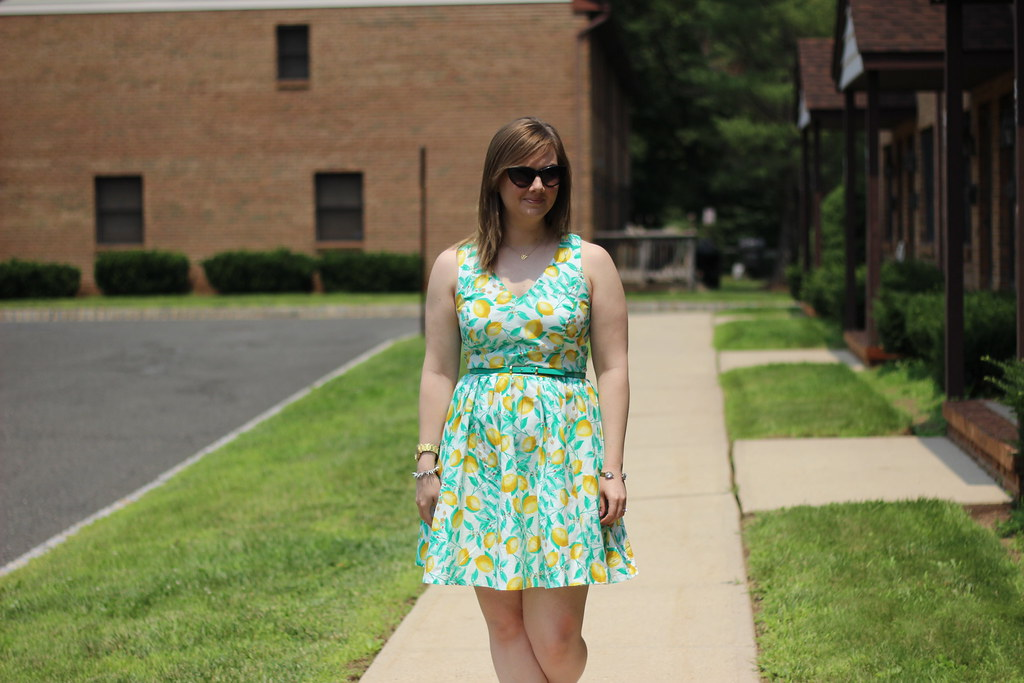 Kohls Lemon Dress (4)