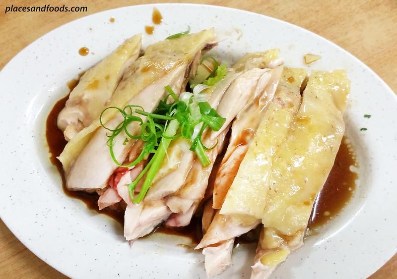jalan alor lim kee hainanese chicken