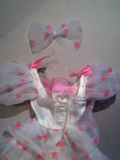 Mystery dress + bow