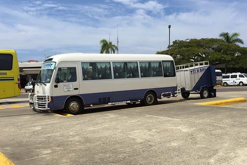 Transfer-Bus zum Hotel / Transfer bus to hotel