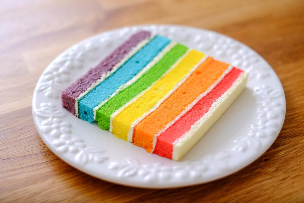 Lynda Ann Cakes: rainbow cake