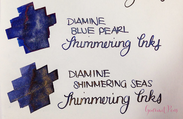 Ink Shot Preview Diamine Shimmer Inks (26)