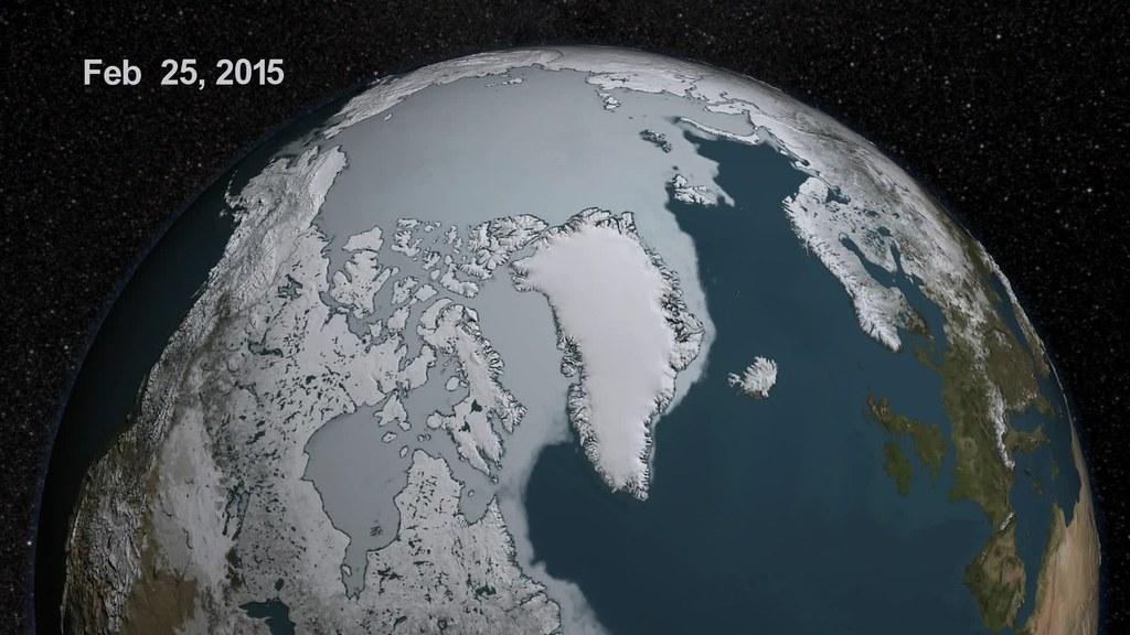 Approaching the 2015 Arctic Sea Ice Minimum