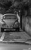 B&W Old Car