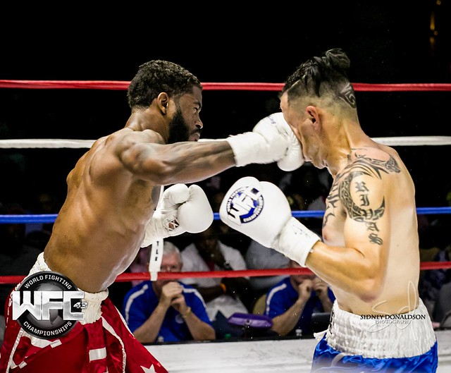 WFC 43 BOXING at the Belle Of Baton Rouge September 18th,2015