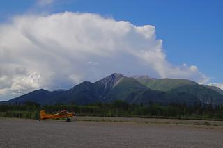 126 Uitzicht vliegveld McCarthy