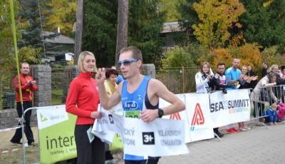 Dymák vyhrál premiérový Klánovický půlmaraton