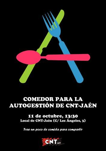 Comedor pro-autogestión de CNT-Jaén