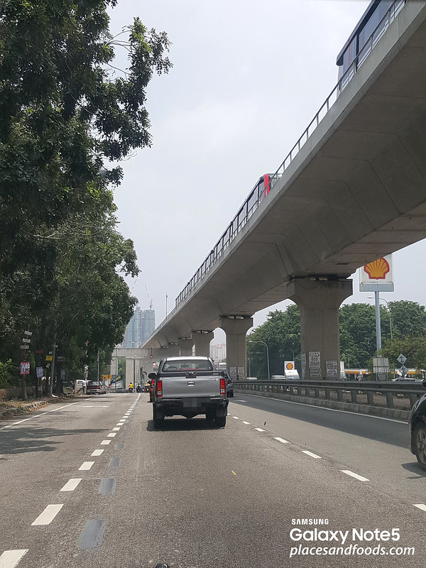 LRT trains testing at Awan Besar, Alam Sutera, Muhibbah and Kinrara BK5 LRT Stations