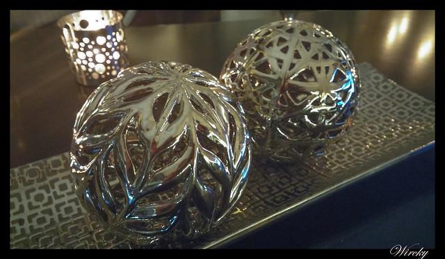 Showcooking en restaurante Summumm Gastroespacio - Bolas decorativas