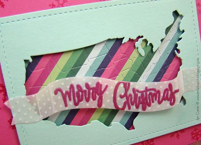 Jen Carter Merry Christmas USA Closeup 1