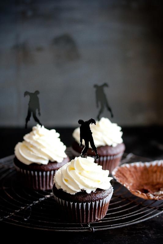 Happy Halloween 2015-Zombie Cupcakes