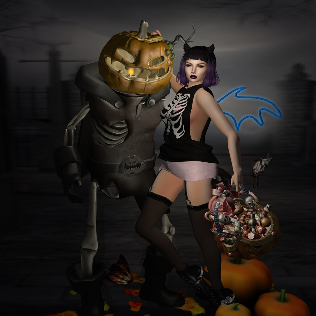 My Halloween Date - Something New pose