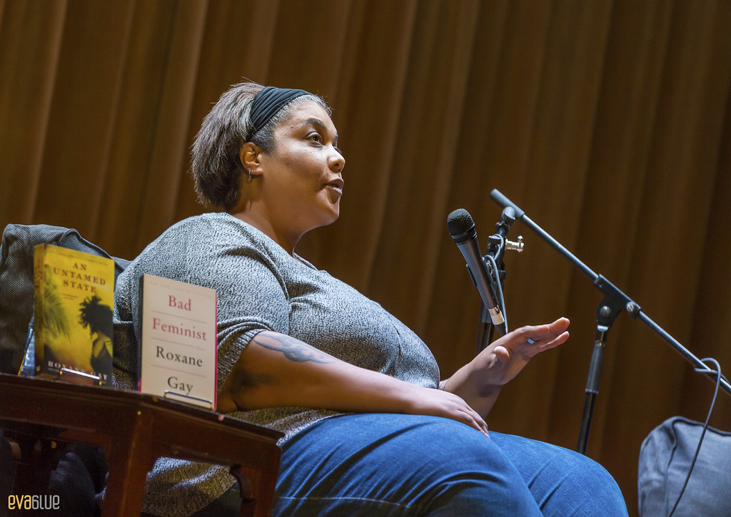 Roxane Gay in conversation with Rachel Zellars - Montreal - 08