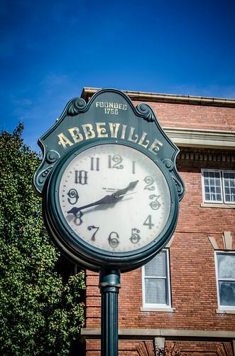 Abbeville Clock
