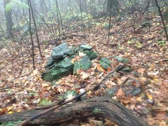 Rock Piles on White Oak Mountain