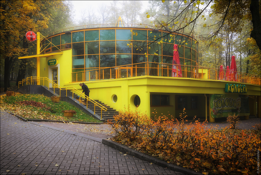 Кафе в парке Горького