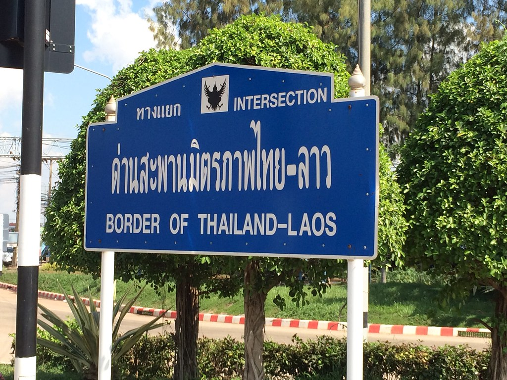Entering Thailand from Laos