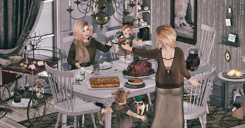 Amelie et les petites: Thanksgiving